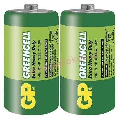 GP Greencell R14 1,5V